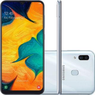 Celular Samsung Galaxy A30 Dual 64gb 4gb Ram A305 Branco