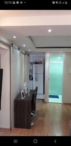 Imagem 1 de 14 de Confortável Apartamento Com 2 Dormitórios Em Itaquaquecetuba