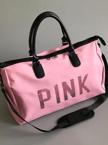 Hermoso Bolso Pink. Excelente Calidad Hermoso