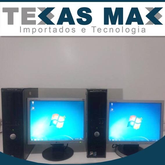 Lote C/05 Computadores Dell Dual Core + Monitor 15 Hd 160
