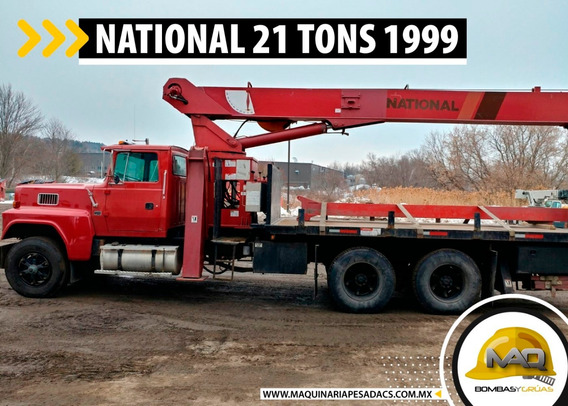 Grua Titan Ford - National 21 Tons 1999