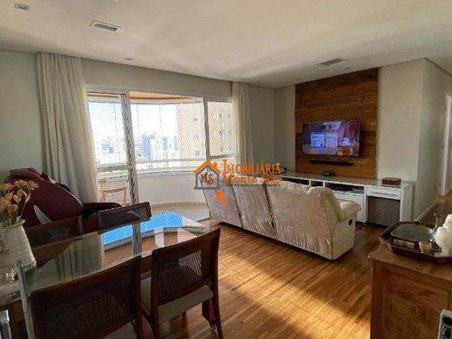 Imagem 1 de 21 de Apartamento Com 3 Dormitórios À Venda, 95 M² Por R$ 689.000,00 - Jardim Zaira - Guarulhos/sp - Ap3452