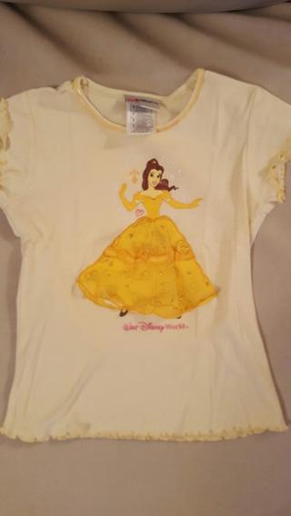 Bella Princesa Remera Original Disney Store Importada