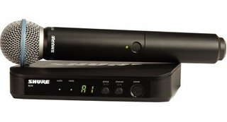 Ftm Microfono Shure Blx24ar - Sistema Inalambrico Con Beta 5
