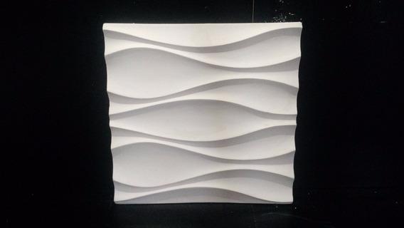 Forma 100% Silicone Mosaico Gesso 3d Dunas Il 28,5 X 28,5 Cm