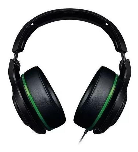Headset Game Razer Man O War 7.1 Green Edition Original - Xone Pc Ps4 - Produto No Estoque + C/ Nota Garantia