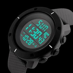 Relógio Masculino Esporte Militar Digital Skmei Led Original