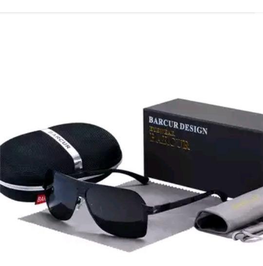 Óculos De Sol Polarizado Uv400 Masculino Barcur Origina