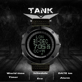 Reloj Táctico North Edge Tank - Nuevos