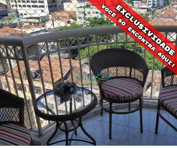 Apartamento Com 3 Dormitórios À Venda, 88 M² Por R$ 460.000,00 - Vila Da Penha - Rio De Janeiro/rj - Ap1039