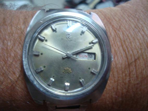 Relógio Ricoh Automático, Pulso Até 17,5 Cm, Made Japan