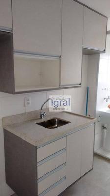 Apartamento Com 1 Dormitório Para Alugar, 60 M² Por R$ 1.350/mês - Vila Do Encontro - São Paulo/sp - Ap0047
