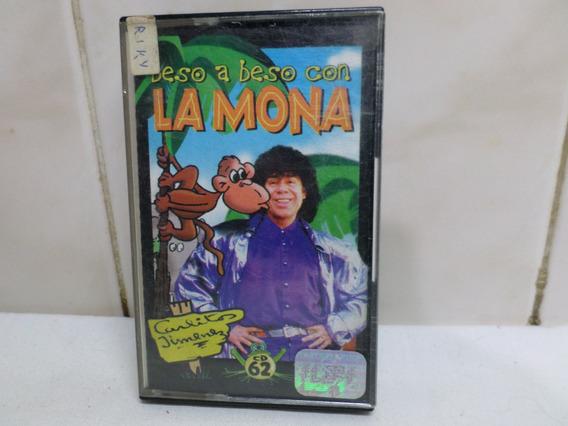 Carlitos Jimenez Cassette Beso A Beso Con La Mona Warner