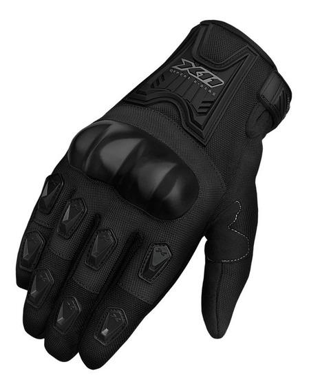 Luva Moto X11 Blackout Masculina Proteção A Vista Proteção X11 Motoqueiro Custon Segurança Moto Fit X11