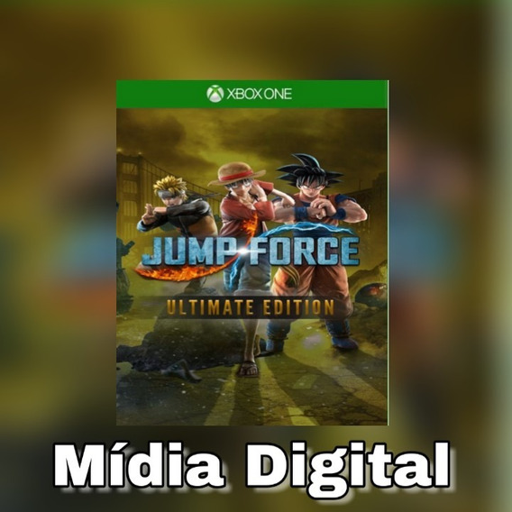 Jump Force Especial Xbox One Midia Digial +brinde
