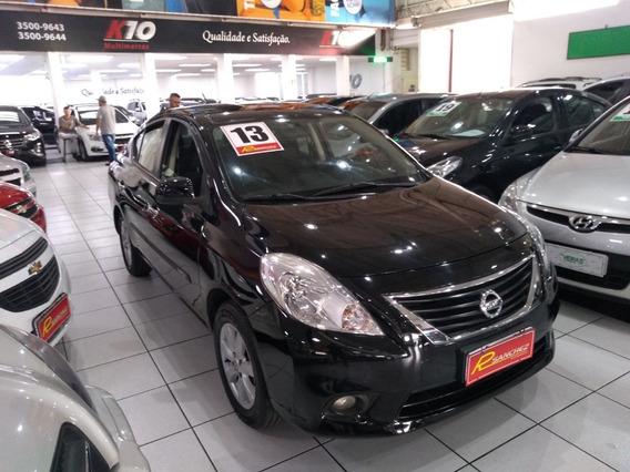 Nissan Versa S 1.6 Flex Completo 2013 Ac Troca/financio