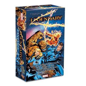 Legendary: A Marvel Deck Building Game: Quarteto Fantástico