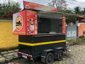 Trailer Food Truck - Batata De Marechal