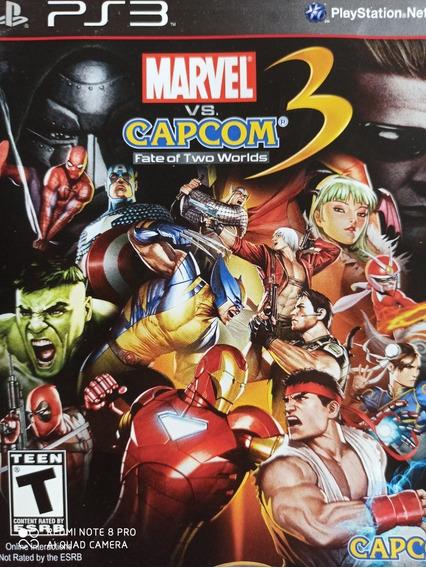 Marvel Vs Capcom Ps3 Original , A Pronta Entrega