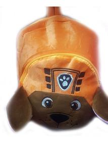 Mochila Infantil Patrulha Canina Marshall Em Pelucia Oferta