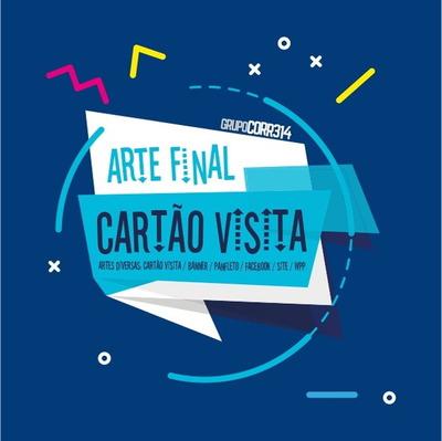 Cartão De Visita- Logomarcas -artes Gráficas- Promoção R$ 50