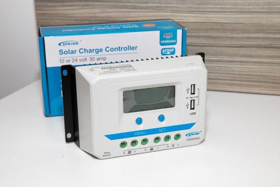 Controlador Solar Pwm Epever 12/24 30a