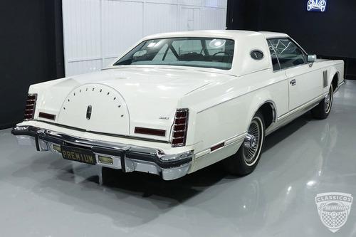 Imagem 1 de 15 de Lincoln Continental Mark V 1978 79 - Original - Ford V8 400