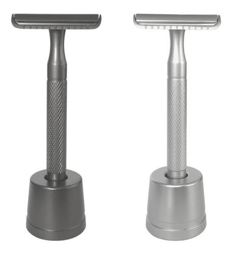 Afeitadora Clásica De Metal Premium