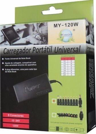 Carregador Universal Notebook/netbook