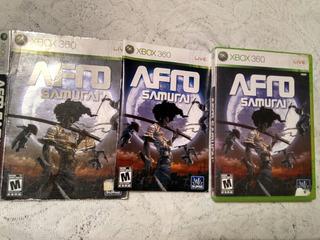 Xbox 360 Afro Samurai (no Ninja Gaiden,mario)