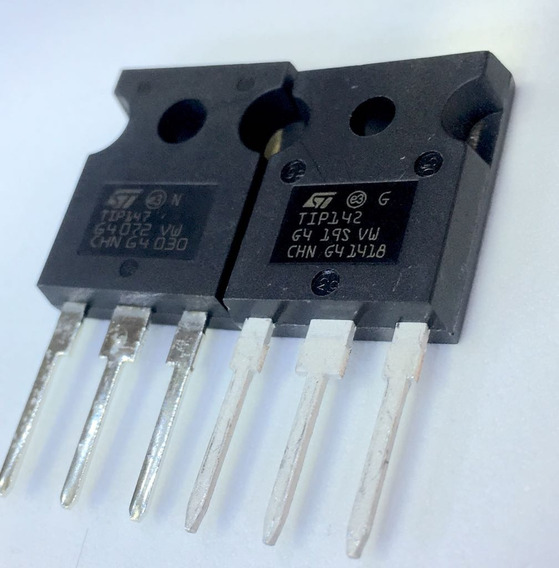 2x Par Transistor Tip142 * Tip 147 * Original * St - Ad