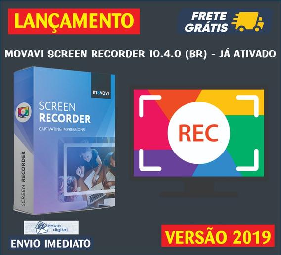 Movavi Screen Recorder 10.4.0 (br) / Envio Digital Imediato