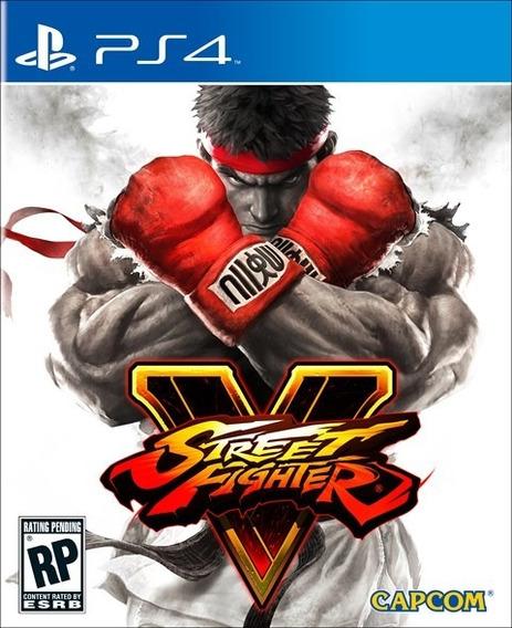 Jogo Game Street Fighter V Playstation 4 Novo Lacrado