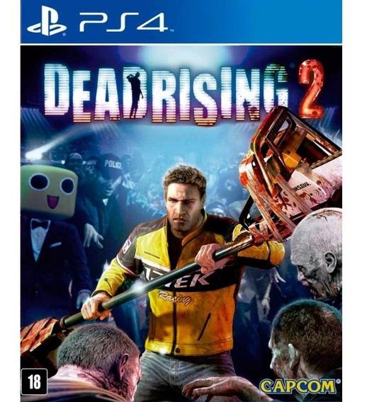 Jogo Novo Mídia Física Dead Rising 2 Original Playstation 4