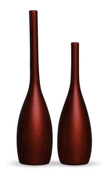Vasos Decorativos Garrafa Tulipa Vinho Fosco Sensation