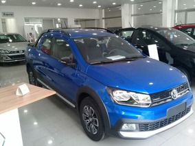 Volkswagen Saveiro Cross Gp 1.6 Azul 2018 Pack High