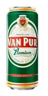 Cerveza Van Pur Importada Polonia Pilsner Lata 500ml Pack X6
