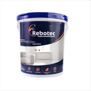 Rebotec 4 / 4kg Impermeabilizante 12x S.juros Distribução Sp