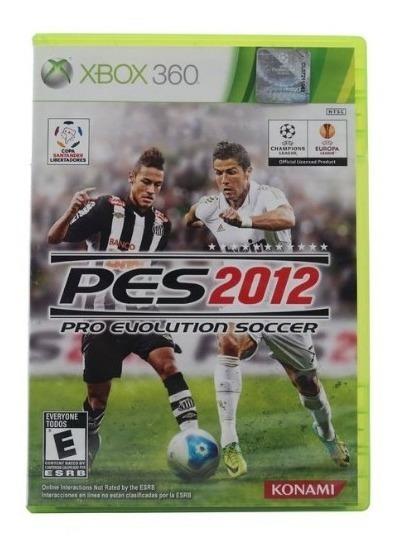 Jogo Xbox 360 Pro Evolution Soccer Original - Pes 2012
