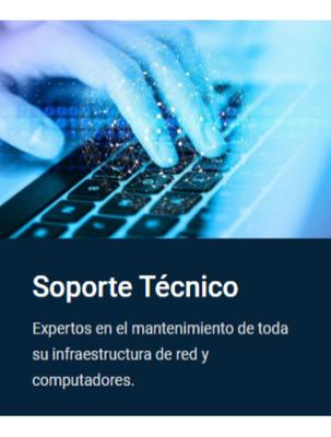 Soporte Técnico Computadoras Redes Reparación Servicios