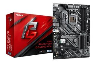 Tarjeta Madre Asrock Z490 Phantom Gaming Intel 10th 4ddr4