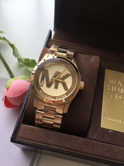 Relógio Feminino Mk5473 Com Caixa E Manual