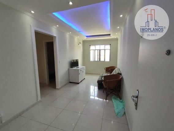 Apartamento Com 1 Dormitório À Venda, 50 M² Por R$ 160.000 - Ocian - Praia Grande/sp - Ap11629