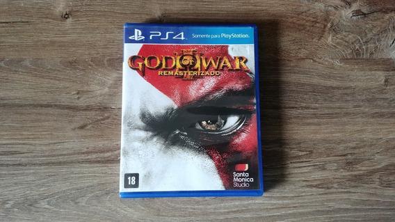 God Of War 3 Iii Remasterizado Remaster Ps4 Mídia Física