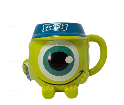 Mug Mike Wazowski Niño Monster Inc University Taza Pocillo