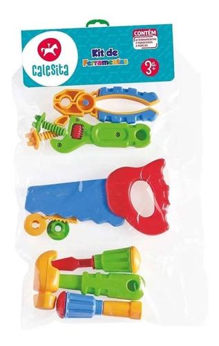 Imagen 1 de 4 de Set De Herramientas De Juguete Infantil Niños Calesita 458