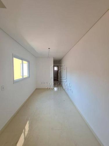 Cobertura Com 2 Dormitórios À Venda, 100 M² Por R$ 320.000 - Vila Camilópolis - Santo André/sp - Co4030
