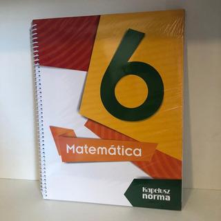 Matematica 6 Kapelusz (serie De Autor) (novedad 2017)