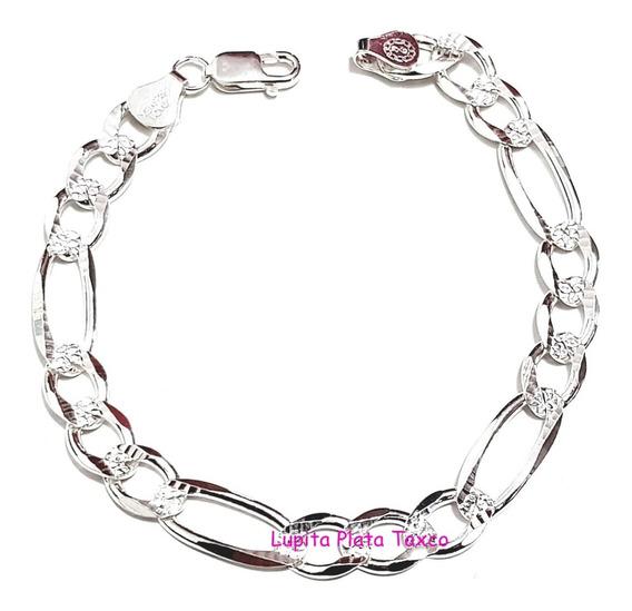 Pulsera Tipo Cartier Diamantada 100% Plata 925 Pulso Esclava