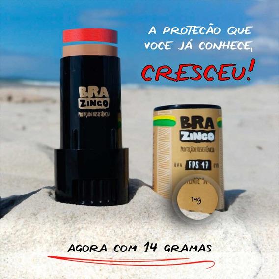 Protetor Solar Facial Fps 47 Brazinco 100% Resistente A Água
